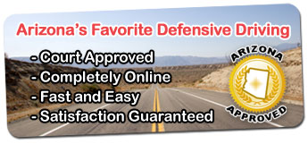 AZ MVD Defensive Driving
